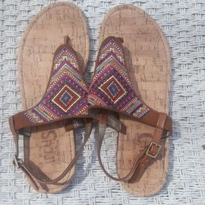 Circus by Sam Edelman sandals colorful boho style